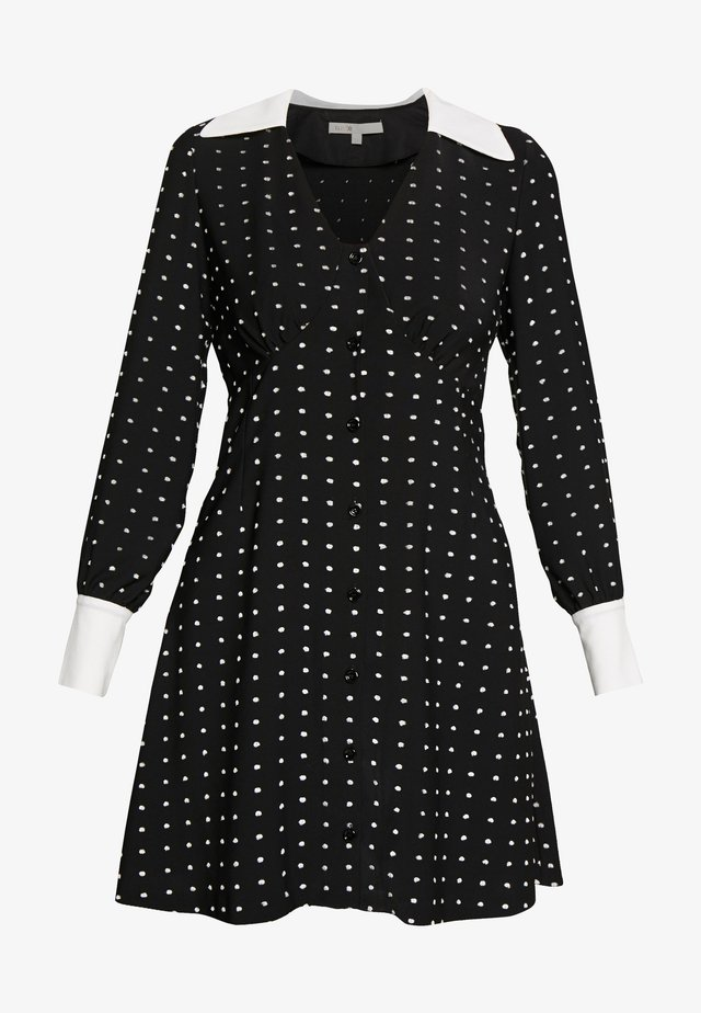 RANDI - Skjortklänning - black