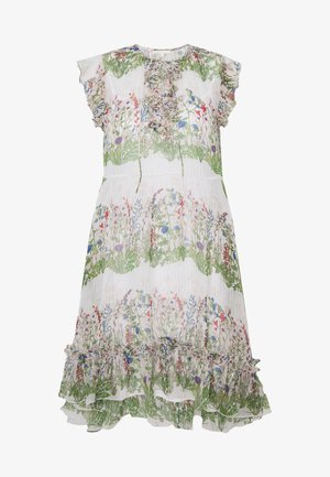 REINETTE - Day dress - ecru/vert
