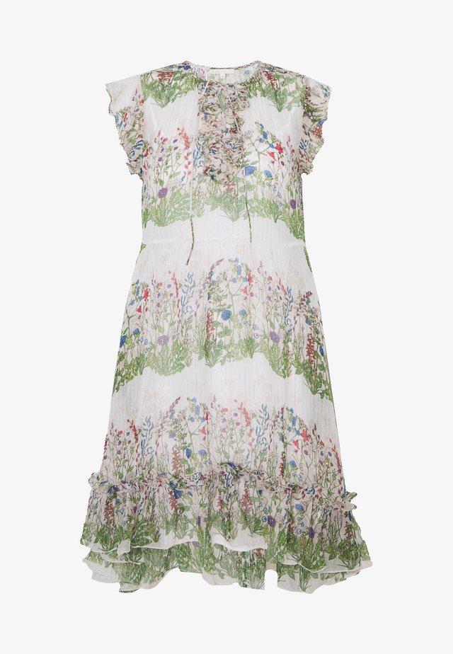 REINETTE - Sukienka letnia - ecru/vert