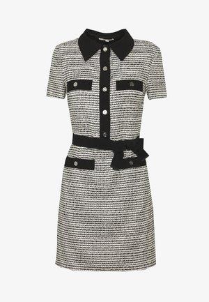 RENALA - Skjortklänning - noir/blanc