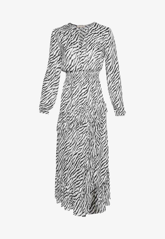 Maxi dress - noir/blanc