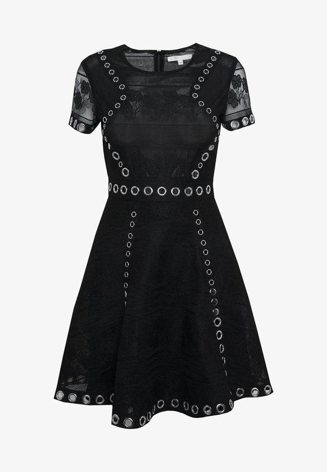 RANCH - Day dress - noir