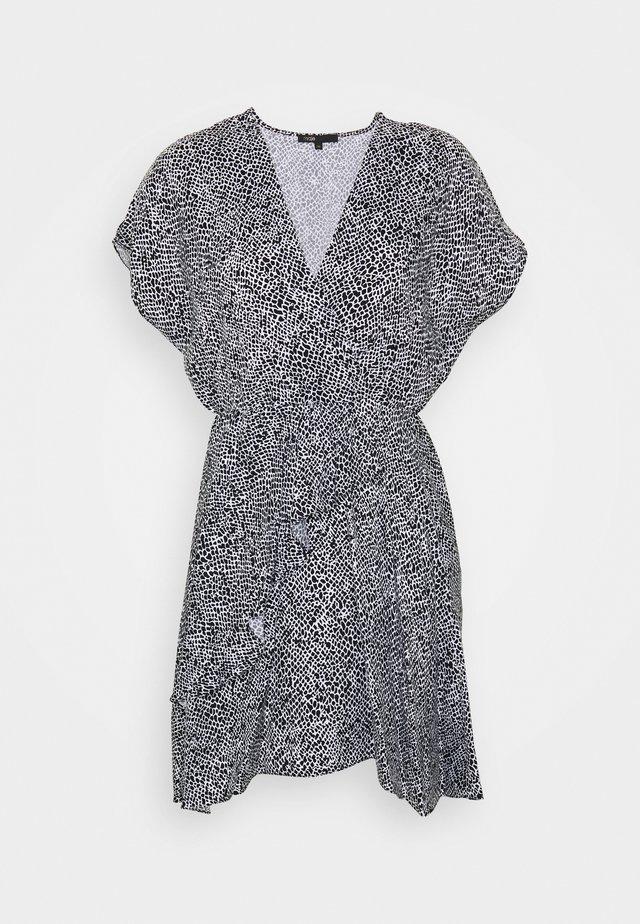 ROMELA - Day dress - noir/blanc