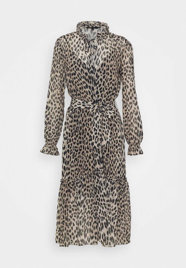RAPARD - Day dress - camel/noir