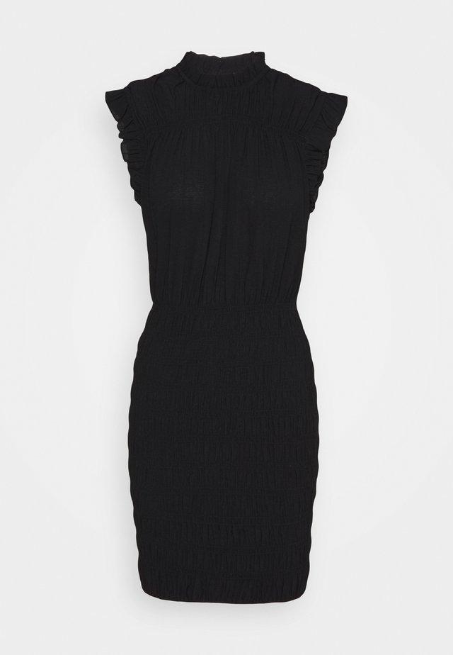 RIKSA - Shift dress - noir