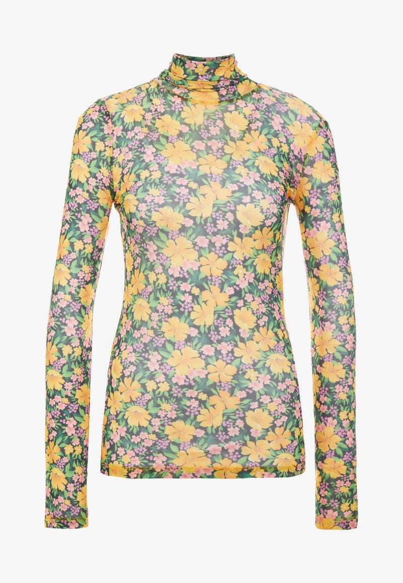 maje - THOMAS - Langarmshirt - jaune