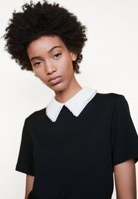 maje - TIVOLA - T-shirt med print - noir - 3