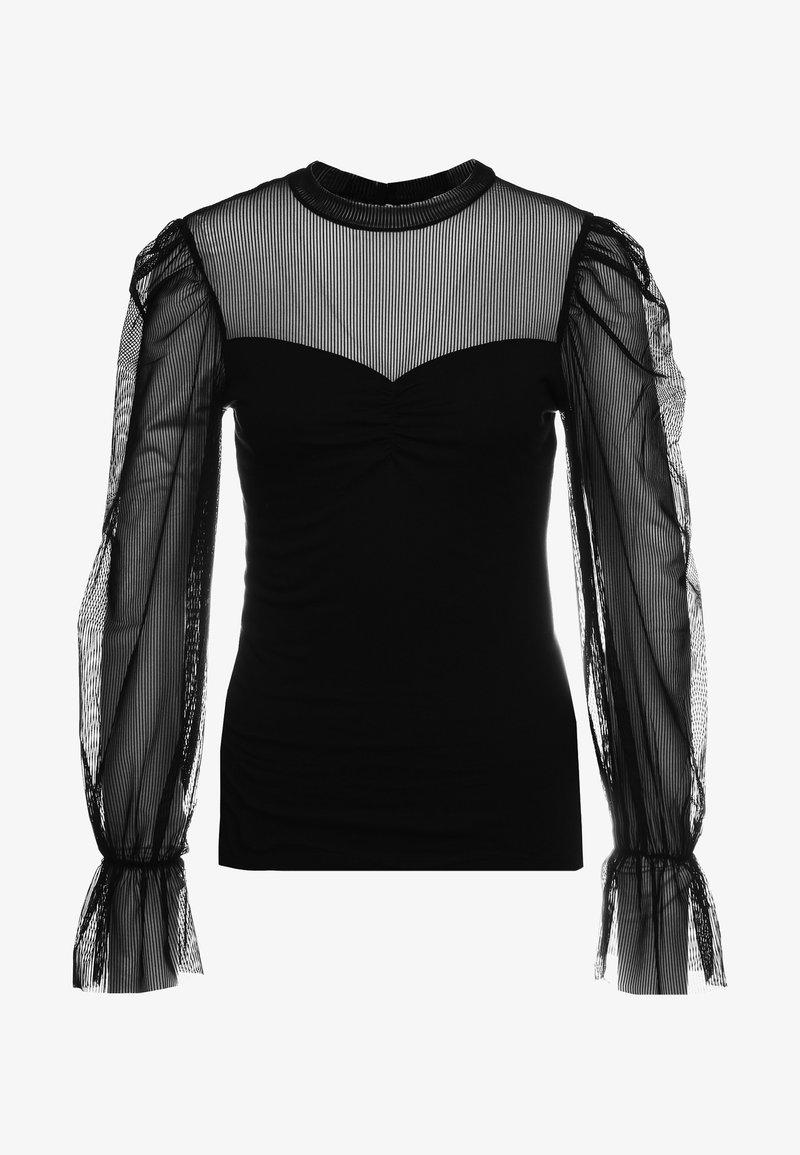 maje - Långärmad tröja - noir