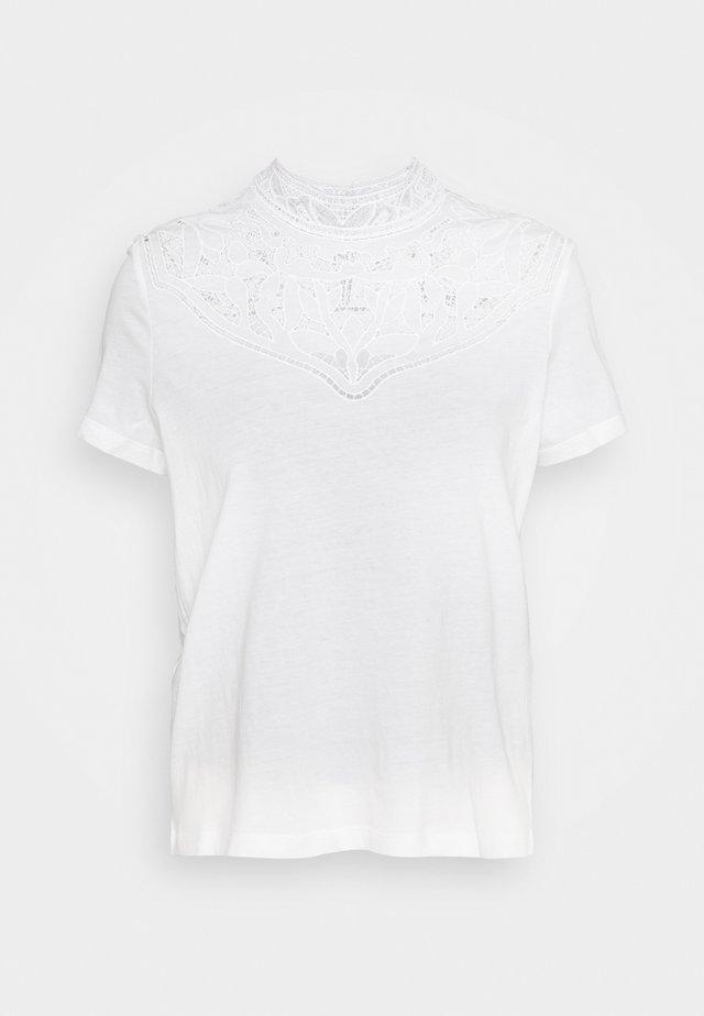 TALENT - Basic T-shirt - ecru