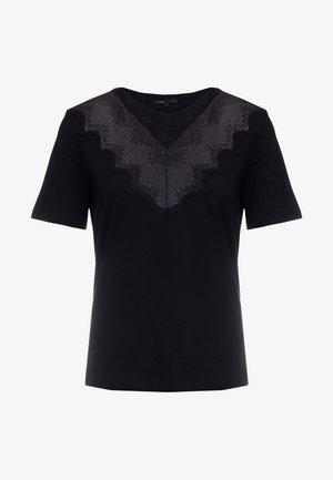 TALENT - T-shirt med print - black