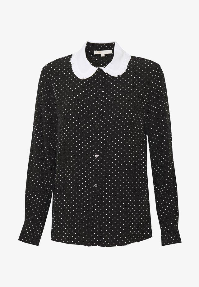 CALICIA - Skjorte - noir/blanc