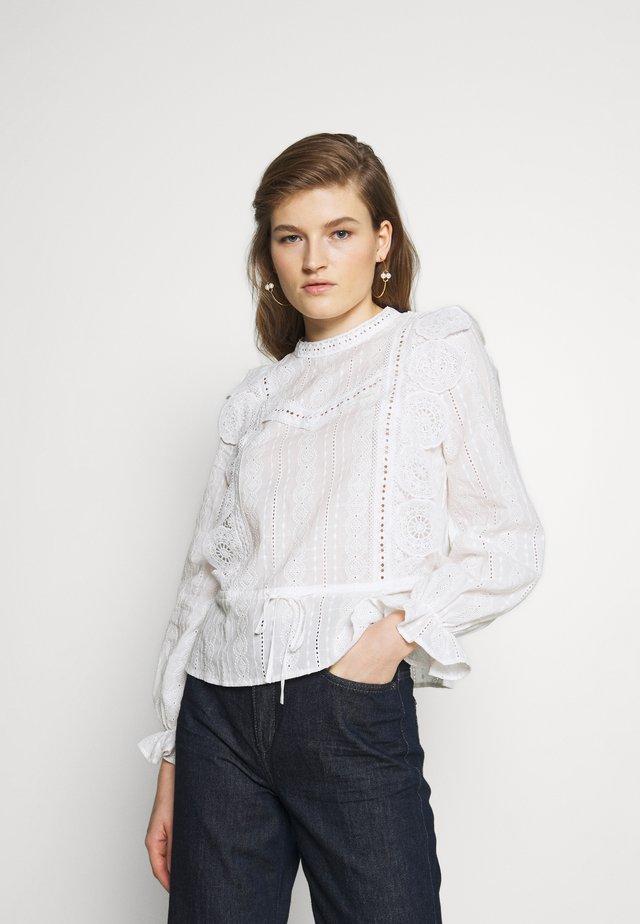 LAVIANE - Bluse - blanc