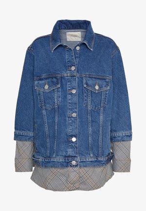 Kurtka jeansowa - bleu