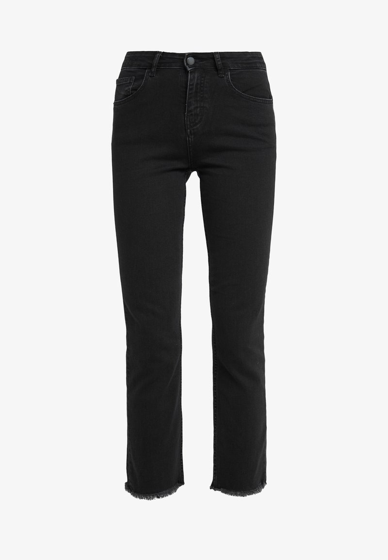 maje - PACHA - Straight leg jeans - anthracite