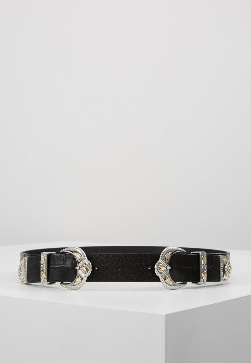 maje - ARIONA - Waist belt - noir