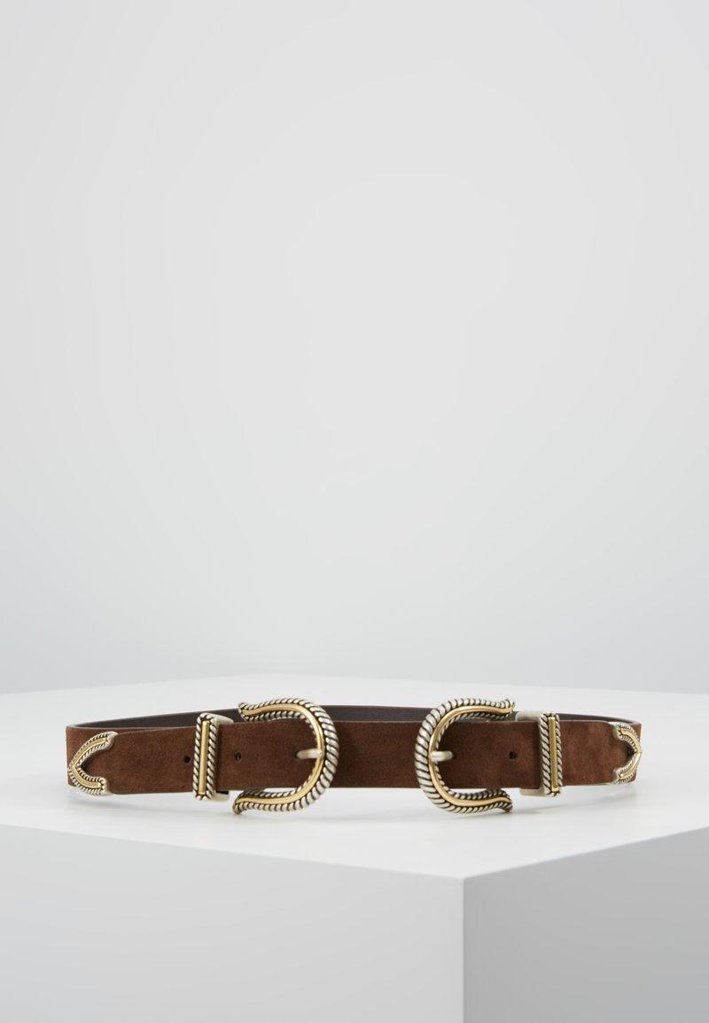 maje - ARIOL - Waist belt - choco