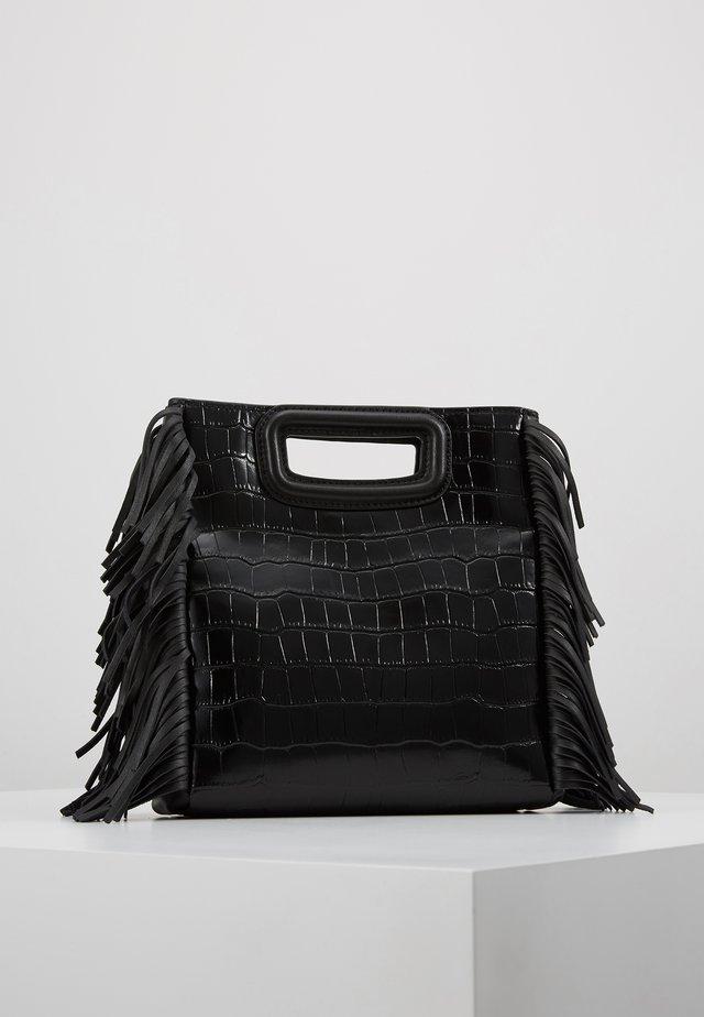 CROCO - Across body bag - noir
