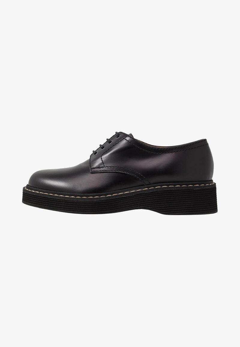 Marni - Šněrovací boty - black