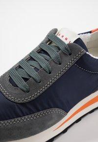 Marni - Sneakers - blublack/grey metal - 6