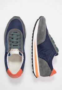 Marni - Sneakers - blublack/grey metal - 1