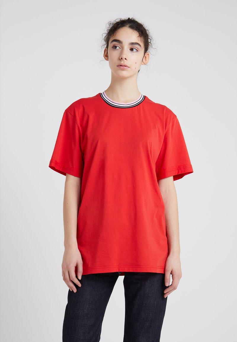 Marni - T-Shirt basic - red