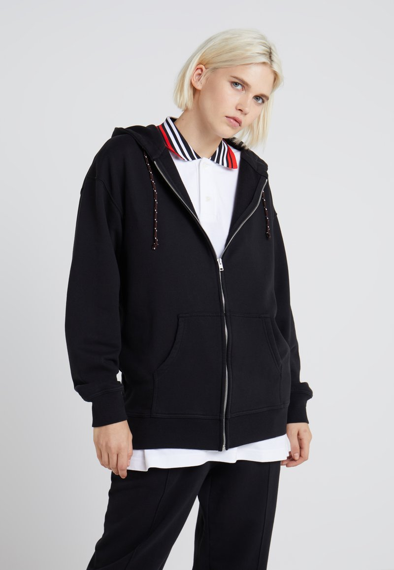 Marni - Zip-up hoodie - black