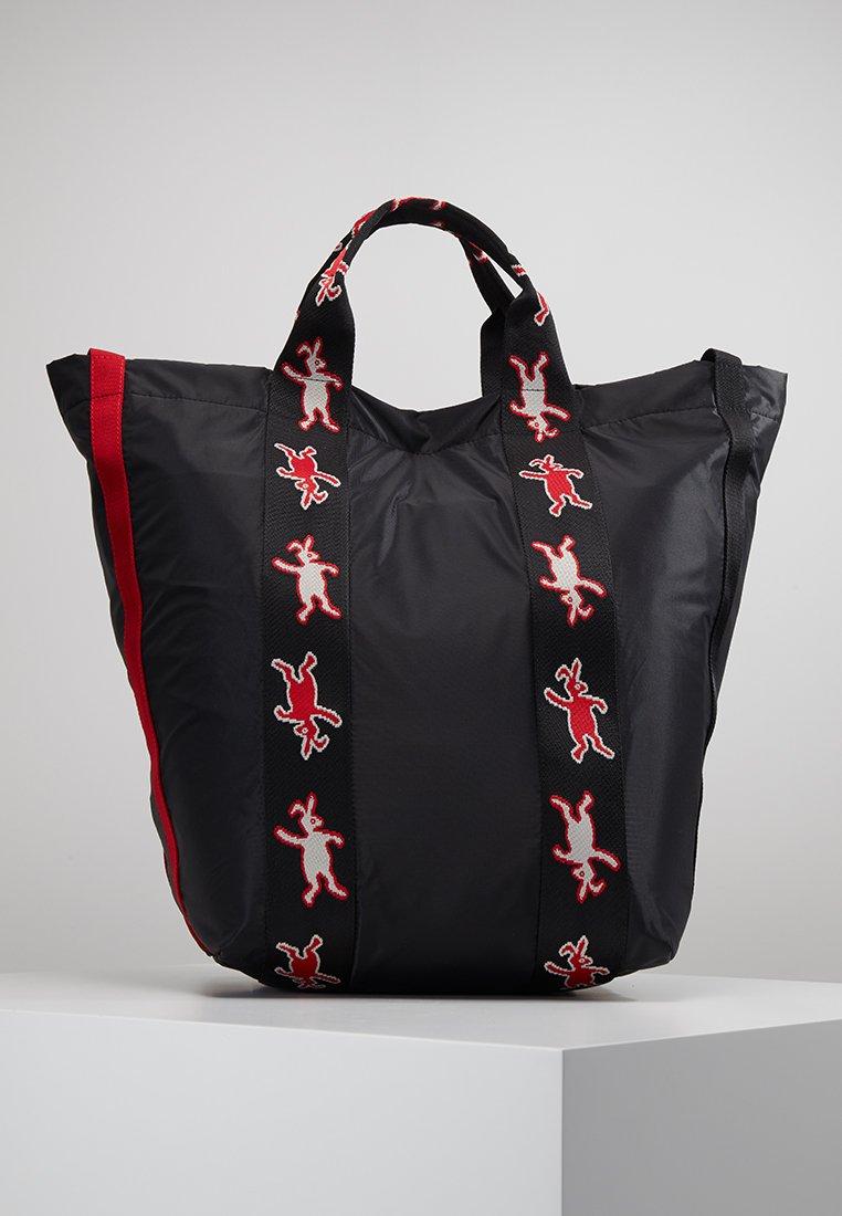 Marni - DANCE BUNNY - Shopping Bag - black
