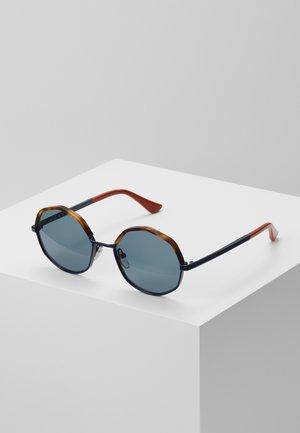 Sonnenbrille - havana/blue