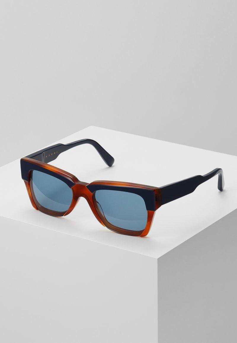 Marni - Sonnenbrille - blue/havana