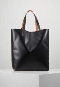 Marni - Shopping bags - beige/black - 2