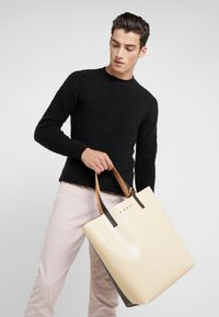Marni - Shopping bags - beige/black - 1