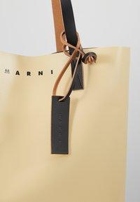 Marni - Shopping bags - beige/black - 6