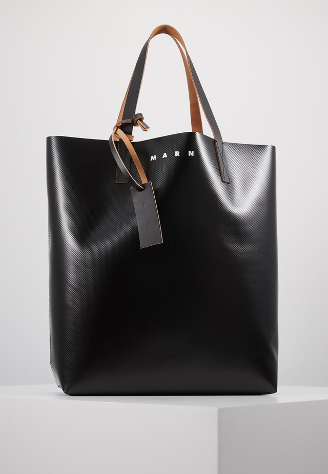 Shopping Bag - black/blue