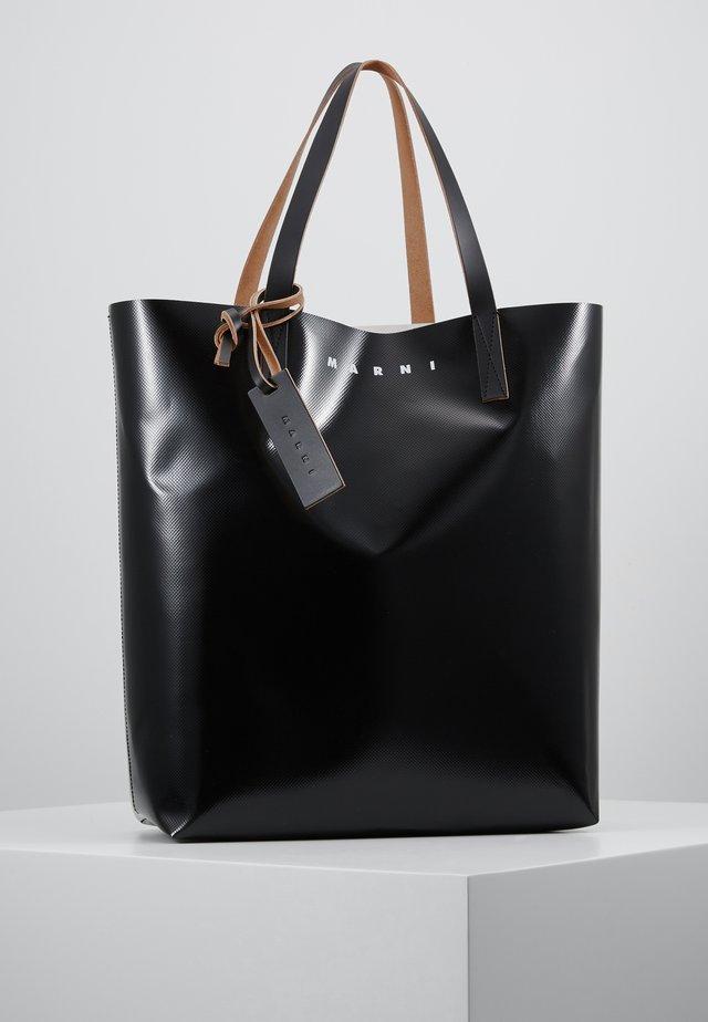 Handbag - black/khaki