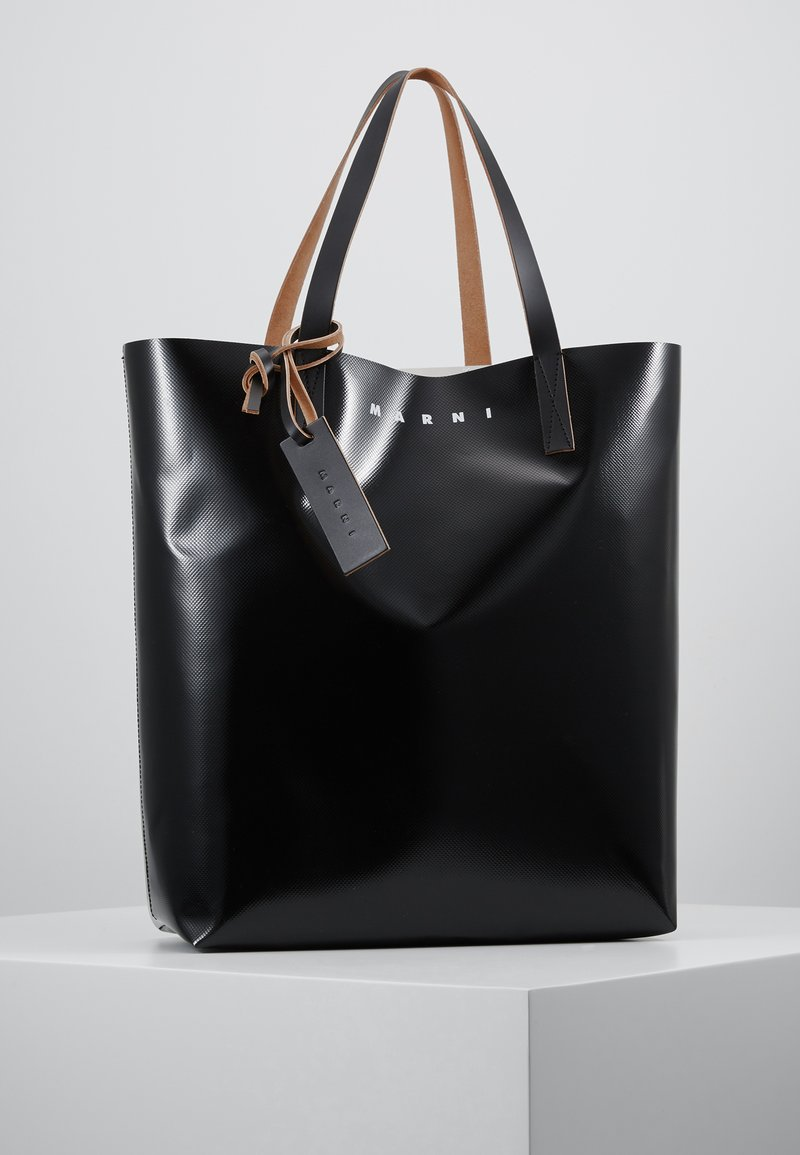 Marni - Sac à main - black/khaki