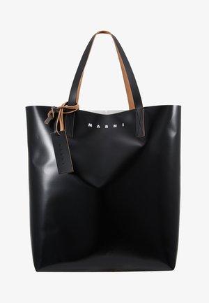 Bolso de mano - black/khaki