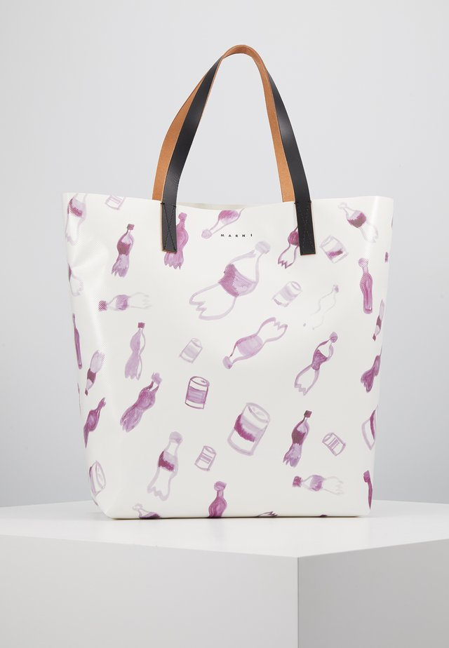 Shopper - white