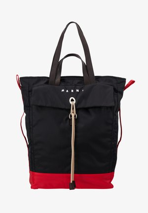 Shoppingveske - black/red/brown