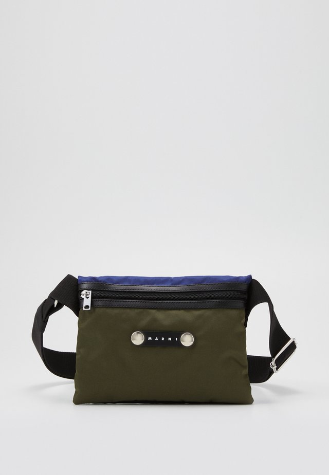Skuldertasker - black/ultramarine/forest green