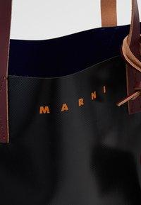 Marni - Shopper - black/eclipse/eggplant - 5