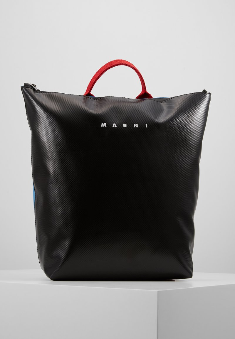 Marni - Rugzak - black/azure