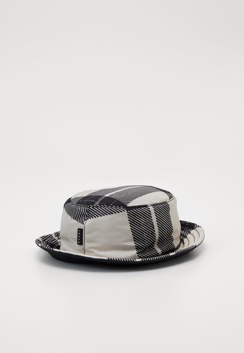 Marni - Chapeau - white/black