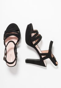 Mariamare - Sandales à talons hauts - black - 3