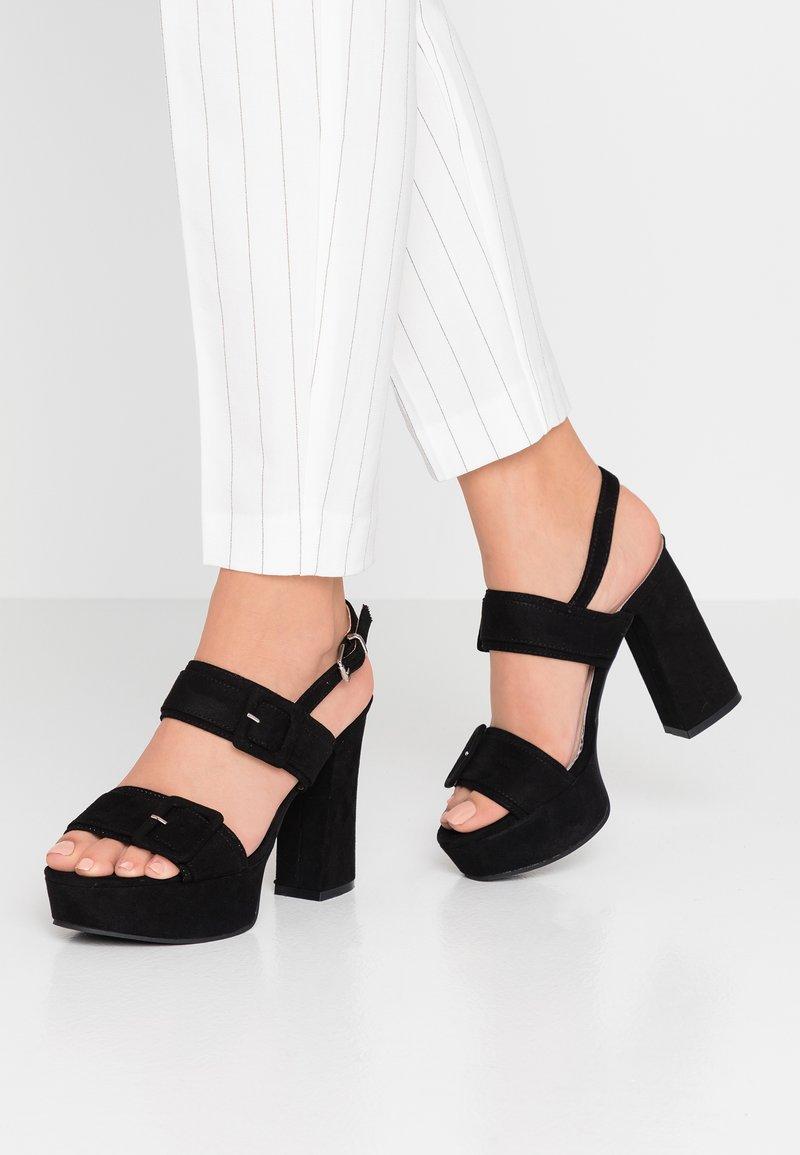 Mariamare - High Heel Sandalette - black