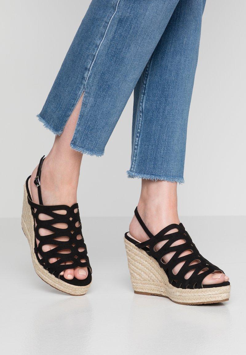 Mariamare - High heeled sandals - black