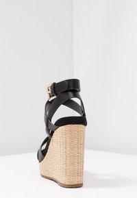 Mariamare - Korolliset sandaalit - black - 5
