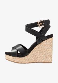 Mariamare - Korolliset sandaalit - black - 1