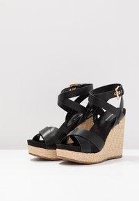 Mariamare - Korolliset sandaalit - black - 4