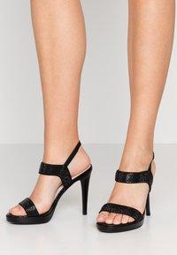 Mariamare - High heeled sandals - black - 0