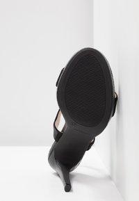Mariamare - High heeled sandals - black - 6